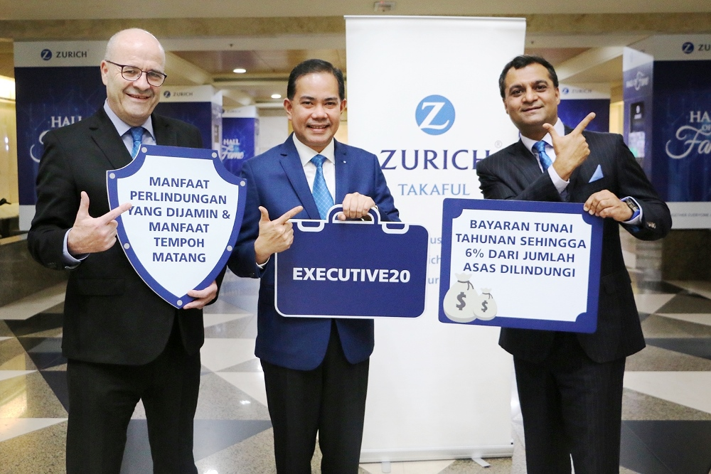 Enjoy Annual Cash Payouts And Guaranteed Protection With Executive20 2017 Zurich In The News Media Zurich Malaysia